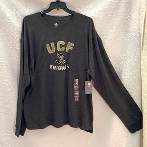 Official UCF Knights Long Sleeve Men's 3X Shirt